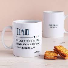 fathers day mug grandad personalised s day mug by cloud 9 design