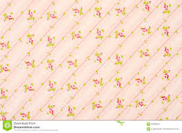 Fabric Shabby Chic by Shabby Chic Floral Pattern On Pink Fabric Stock Illustration