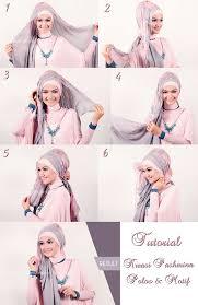 tutorial hijab pashmina kaos yang simple 37 best tutorial hijab images on pinterest hijab styles hijab