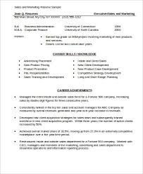 marketing resume sle resume sle for marketing pdf 28 images marketing sales cover