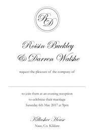 wedding invitations kildare evening invitations wedding stationery from appleberry press