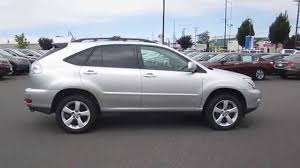 used lexus rx 350 washington state 2008 lexus rx350 sil silver stock b2707 walk around youtube