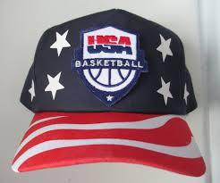 American Flag Snapback Hat Vintage 90s Dream Team Usa Basketball 1992 Barcelona Olympics