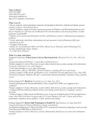 Entry Level Network Technician Resume Desktop Support Cover Letter Haadyaooverbayresort Com