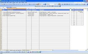 spread sheet monthly budget worksheet excel monthly expenses spreadsheet