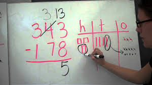 subtraction with regrouping 3 digit youtube