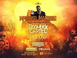 taxi halloween party denver masked mansion bass masquerade tickets city hall denver co