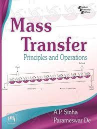 mass transfer principles and operations de sinha diffusion