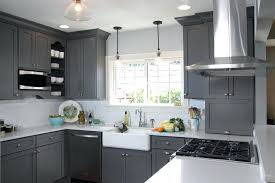 grey shaker kitchen cabinets grey shaker style kitchen cabinets