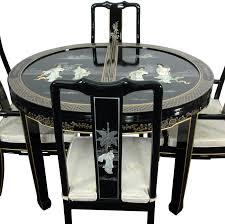 ravishing black lacquer dining room furniture model kitchen new at