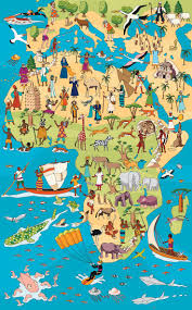African Continent Map 1194 Best Maps Images On Pinterest Illustrated Maps Map
