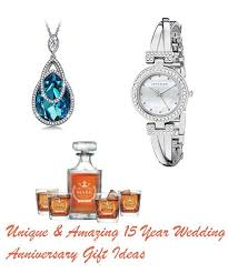15 year anniversary gift unique and amazing 15 year wedding anniversary gift ideas sang