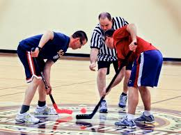 Floor Hockey Pictures by 934th Teams Battle For Floor Hockey Title U003e Minneapolis St Paul