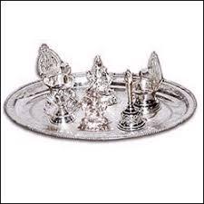 send silver pooja items to hyderabad vizag vijayawada guntur