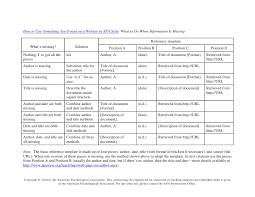 how to cite a table in apa how to cite something you found on a website in apa style table 1 1