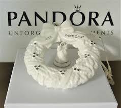 authentic pandora 2016 porcelain wreath ornament camaw160002