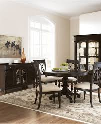 Macy Kitchen Table Sets Kitchen Modern Dining Sets Black - Branchville white round dining room furniture