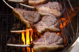 perfectly grilled lamb rib or loin chops recipe serious eats
