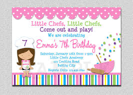 christmas cookie party invitations cooking birthday party invitation cooking baking birthday
