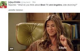 Brad Meme - jennifer aniston memes flood twitter after angelina jolie and brad