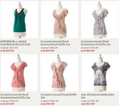 kohls womens blouses kohl s restocked their clearance tons of womens tops