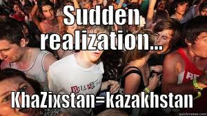 Sudden Realization Meme - sudden clarity clarence memes quickmeme