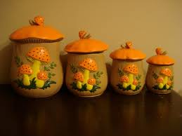 unique canister sets kitchen canisters astonishing orange kitchen canisters ceramic canister