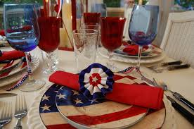 4th Of July Home Decor by 4th Of July Table Setting