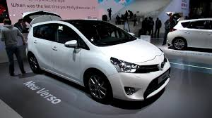 mpv car 7 seater 2013 toyota verso diesel 7 seats exterior and interior