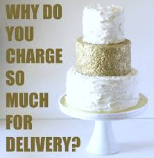 wedding cake delivery behance
