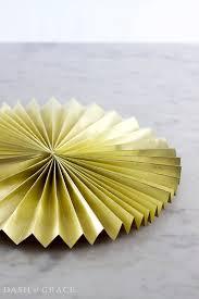 diy fans paper fan paper rosette diy dash of grace