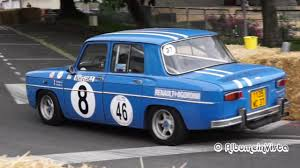 grand prix historique bressuire 2016 renault 8 gordini séries