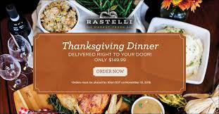 order thanksgiving dinner from rastelli market fresh