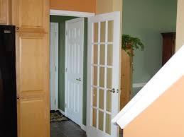 cool french door interior on custom built french doors