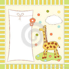 card invitation design ideas baby greeting card with cartoon
