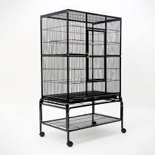 heat l for bird aviary medium wheeled aviary bird cage w 2 perches 137cm buy bird cages