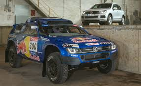 volkswagen unveils race touareg 3 for 2011 dakar rally car and
