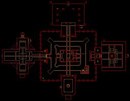 black temple map nintendo 64 doom 64 level 23 unholy temple level map