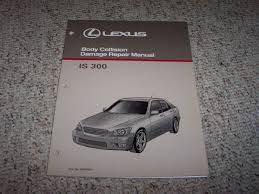 2001 lexus is 300 is300 body collision service repair manual 2002