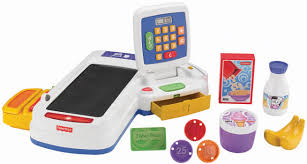 Fisher Price Servin Surprises Kitchen Table by Amazon Com Fisher Price Servin U0027 Surprises Cash Register Toys U0026 Games