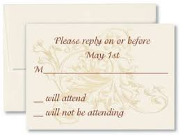 wedding reply card wording wedding invitations response cards and their wording