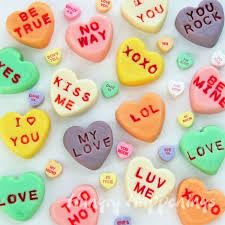 candy valentines 274 best conversation hearts images on