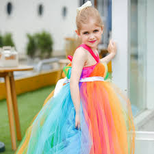 popular children rainbow tutu dress buy cheap children rainbow