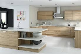 sensational brown teak wooden walnut kitchen cabinets and black