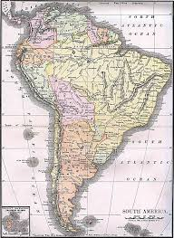 Blank South America Map Blank Map Of Chicago