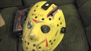 jason mask halloween neca friday the 13th the final chapter replica hockey mask