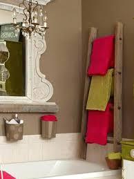 Very Towel Ladders For Bathrooms Bathroom Towel Ladder Wood