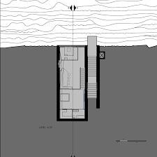 opa u0027s sunken cliffside residence gets go ahead dezeen