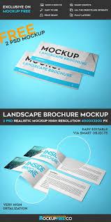 Landscaping Advertising Ideas Landscape Brochure U2013 2 Free Psd Mockups Free Psd Templates