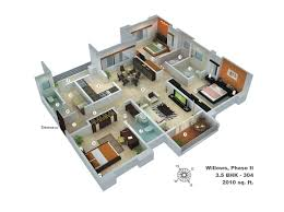 modern floor plan 6 bedroom modern house plans ideas floor plan of bhk sq collection